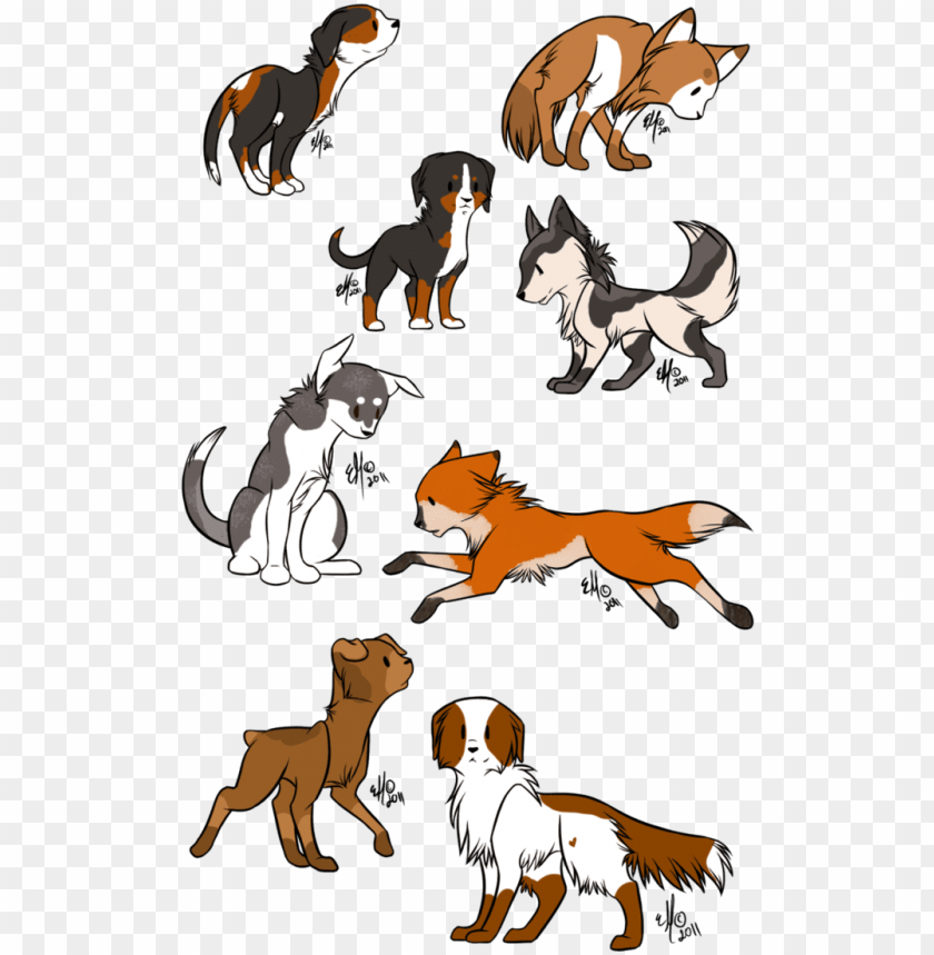 free PNG anime chibi dog PNG image with transparent background PNG images transparent