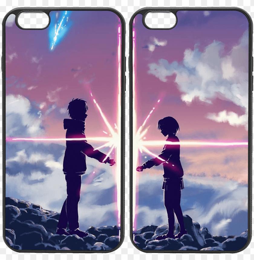 Anime Couple Kimi No Nawa Wallpaper Android Png Image With