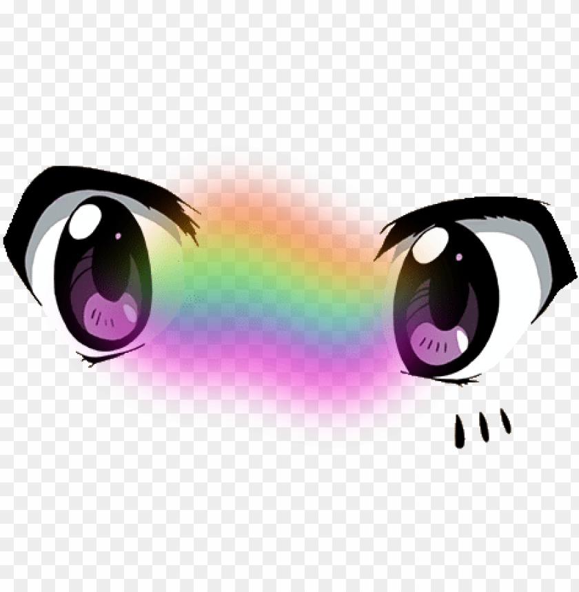 free PNG anime eyes cute tumblr vaporwave - kawaii eyes transparent background PNG image with transparent background PNG images transparent