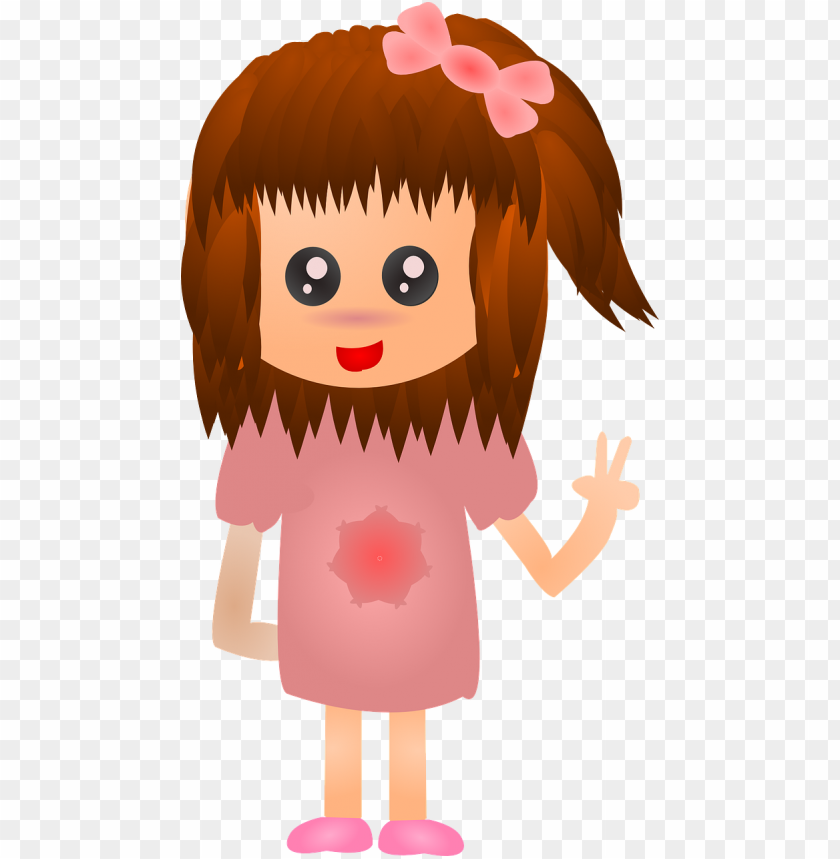 free PNG anime girl female - gambar animasi anak perempua PNG image with transparent background PNG images transparent