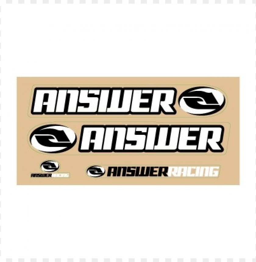 free PNG answer racing logo vector PNG images transparent