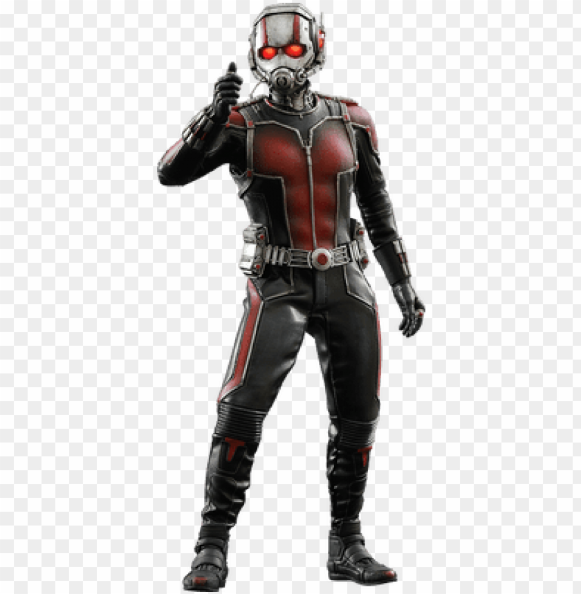 free PNG ant man standing - hot toys marvel ant-man 1:6 scale figure PNG image with transparent background PNG images transparent