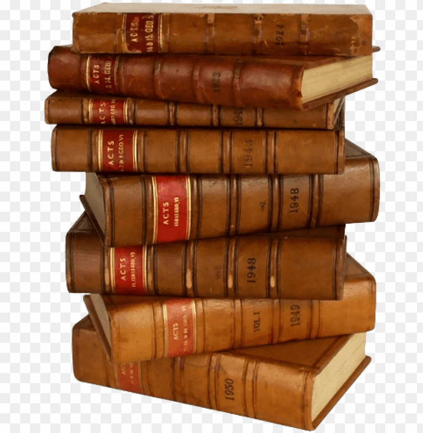 free PNG antique english law books stack - stack of law books PNG image with transparent background PNG images transparent