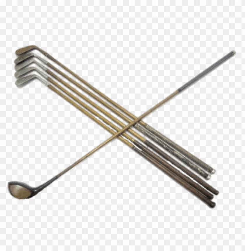Antique Golf Clubs Png Images Background Toppng