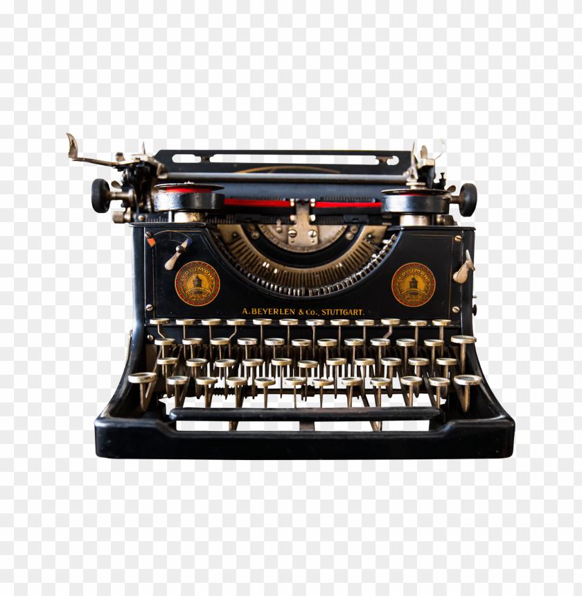free PNG Antique Typewriter png images background PNG images transparent
