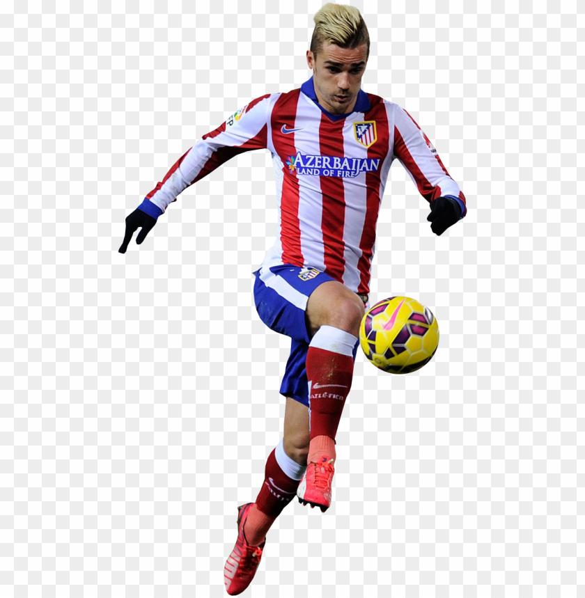 free PNG antoine griezmann of atletico madrid super football, - griezmann 2016 PNG image with transparent background PNG images transparent