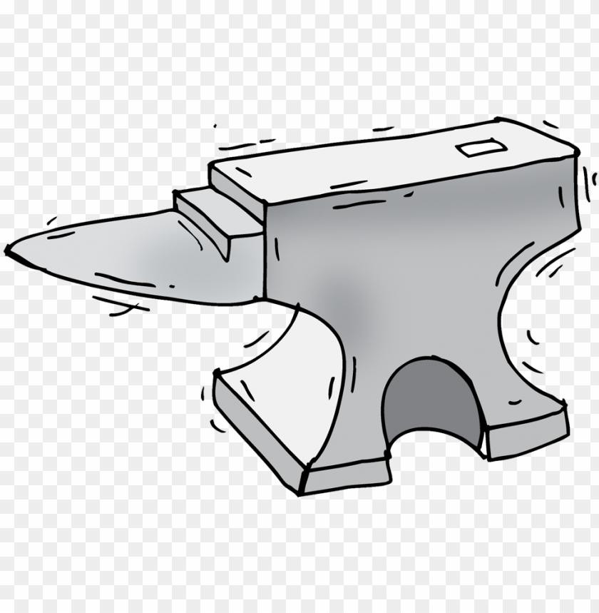 free PNG anvil - sketch PNG image with transparent background PNG images transparent