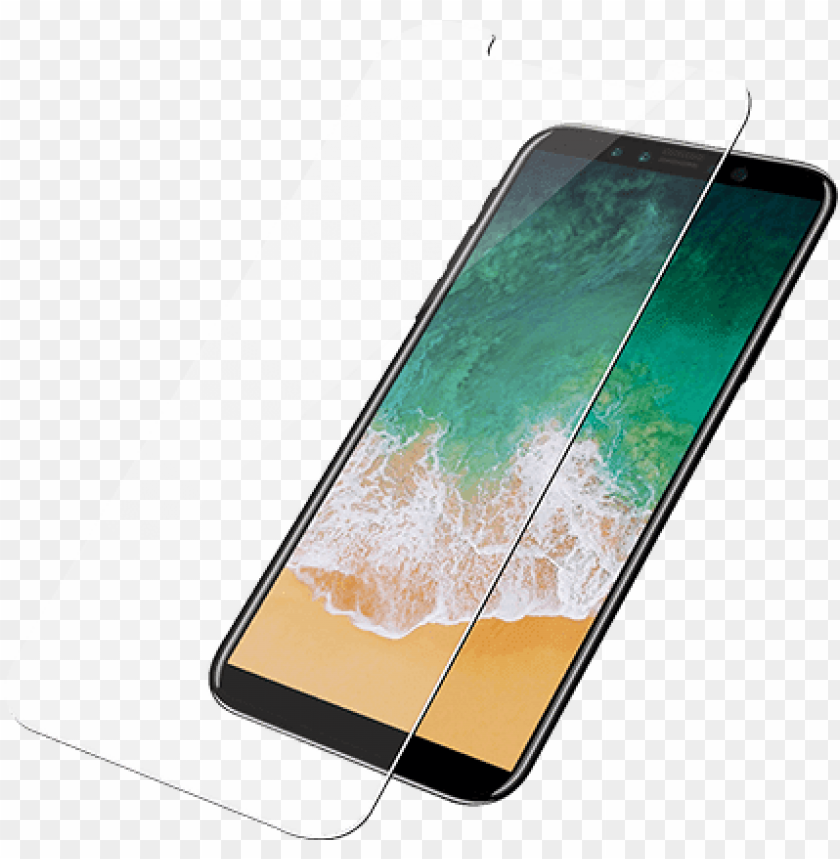 free PNG anzerglass iphone xs and x tempered glass screen protector - iphone screen protector iphone xs PNG image with transparent background PNG images transparent