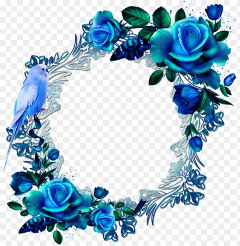 free PNG aper frames, blue flowers, flower art, floral prints, - rose flowers corner PNG image with transparent background PNG images transparent