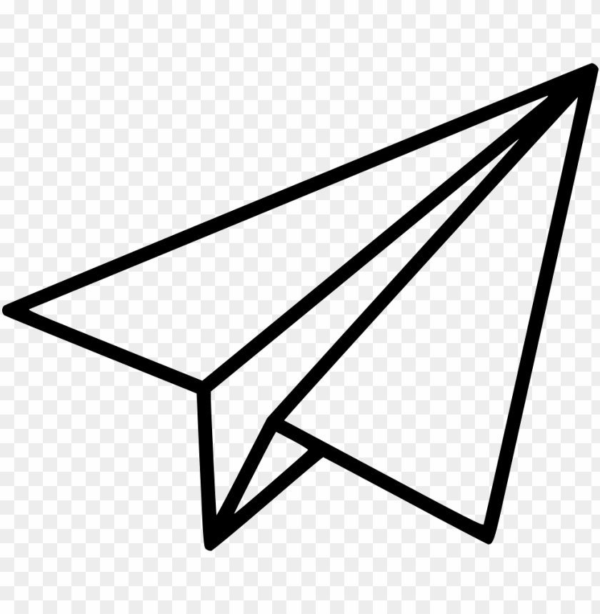 free PNG aper plane png - paper airplane icon PNG image with transparent background PNG images transparent