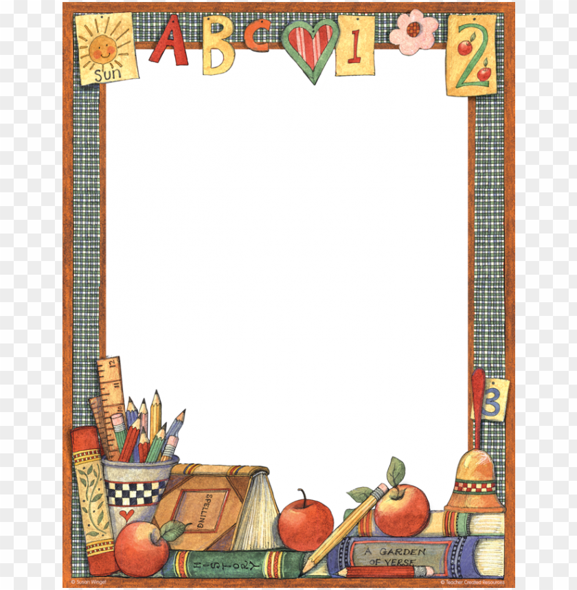 free PNG aper teacher computer education - page border PNG image with transparent background PNG images transparent