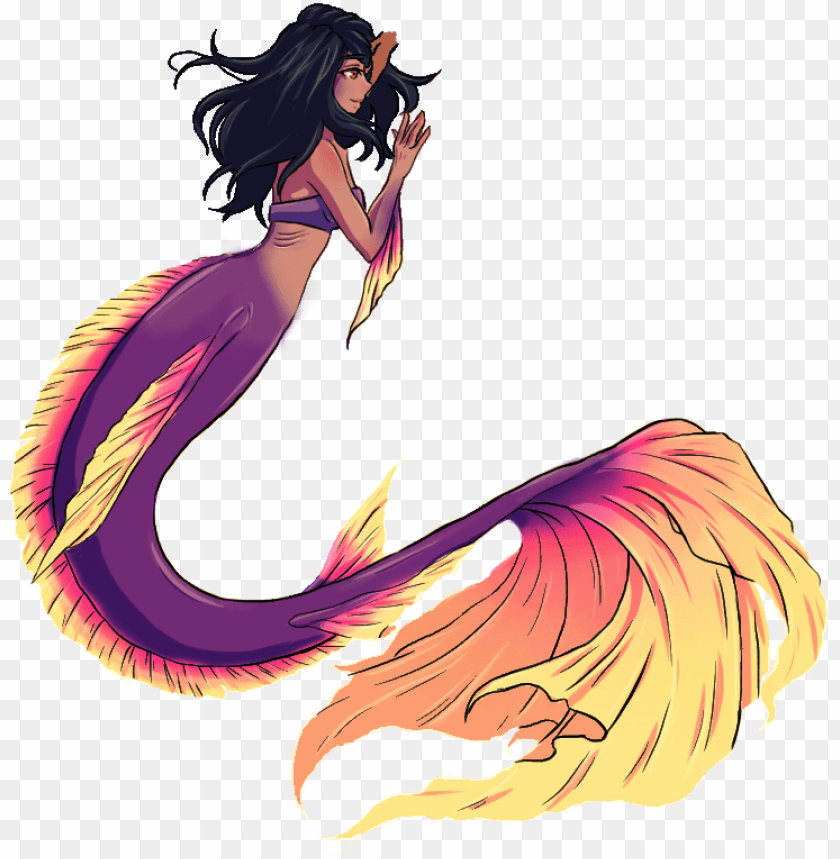aphmau fan art mermaid tails PNG image