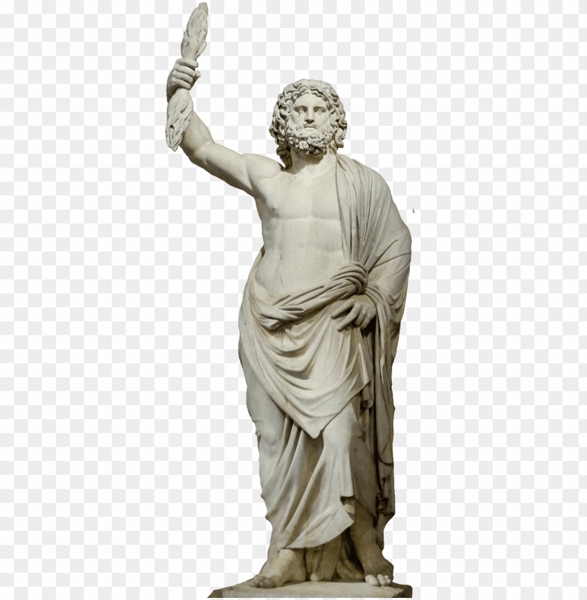 Apollo Drawing Greek Statue Zeus Statue Png Image With