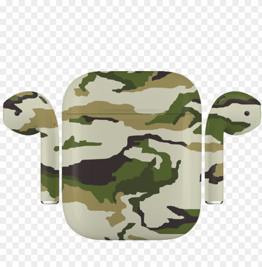 free PNG apple airpods camouflage special edition, army, matte - army PNG image with transparent background PNG images transparent
