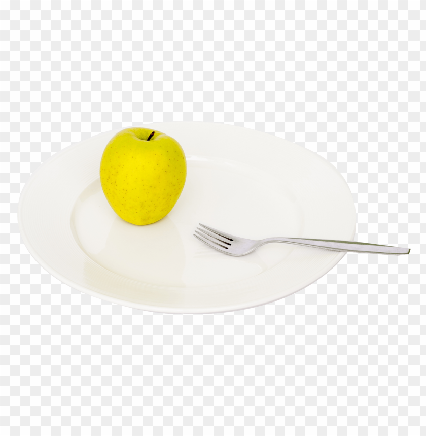 free PNG Apple and Fork on Plate png - Free PNG Images PNG images transparent