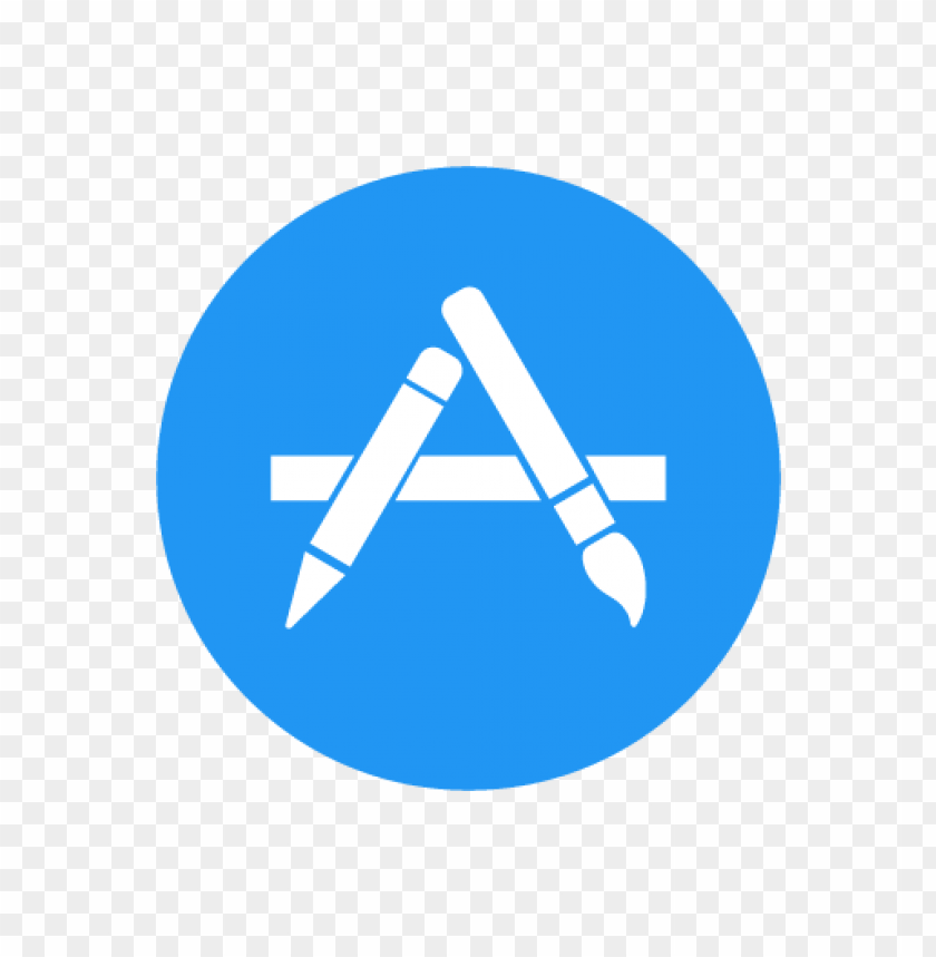 free PNG apple app store vector logo (.eps + .ai + .svg) download for free PNG images transparent