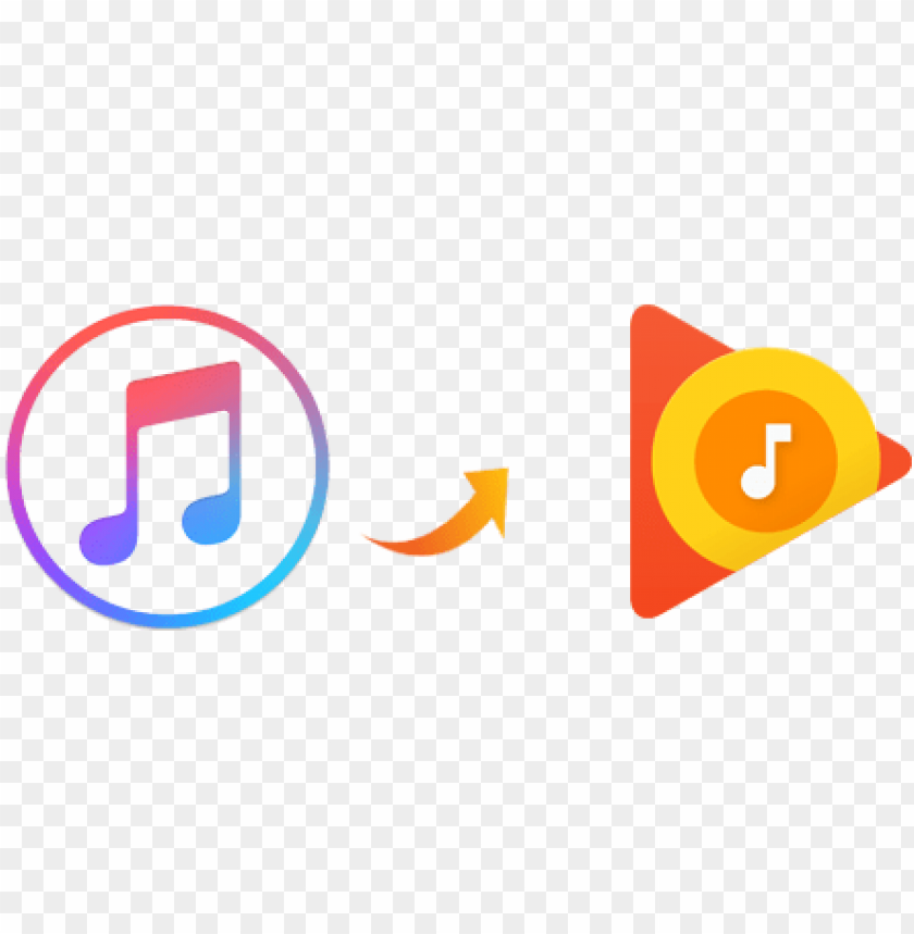 free PNG apple music to google play music - music streaming services logo PNG image with transparent background PNG images transparent