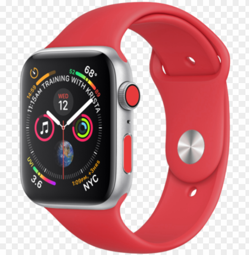 free PNG apple watch series 4 colors PNG image with transparent background PNG images transparent