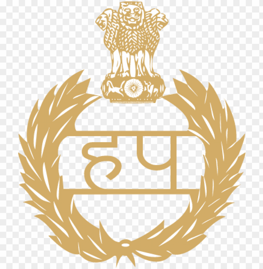 free PNG apply for the post of police constable in haryana police - haryana police logo vector PNG image with transparent background PNG images transparent
