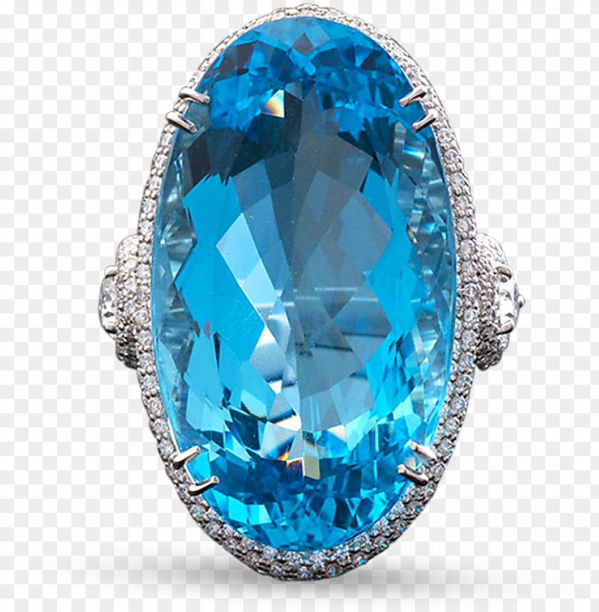 free PNG aquamarine and diamond ring, - diamond PNG image with transparent background PNG images transparent