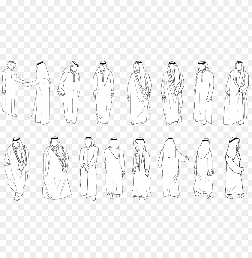 free PNG Download Arabic People Cutout png images background PNG images transparent