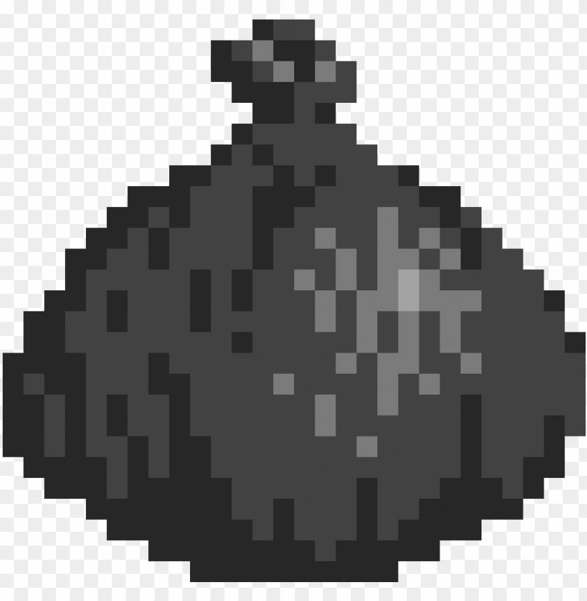Arbage Bag Deadpool Logo Pixel Art Png Image With