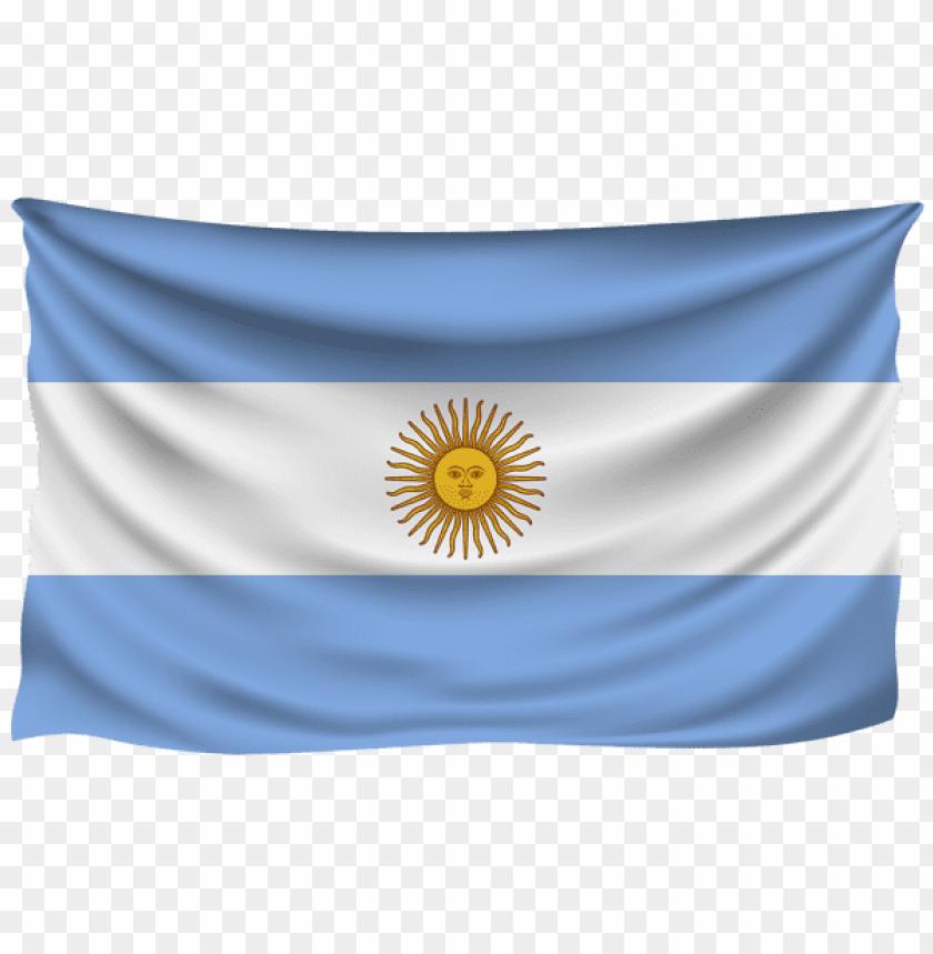 free PNG Download argentina wrinkled flag clipart png photo   PNG images transparent