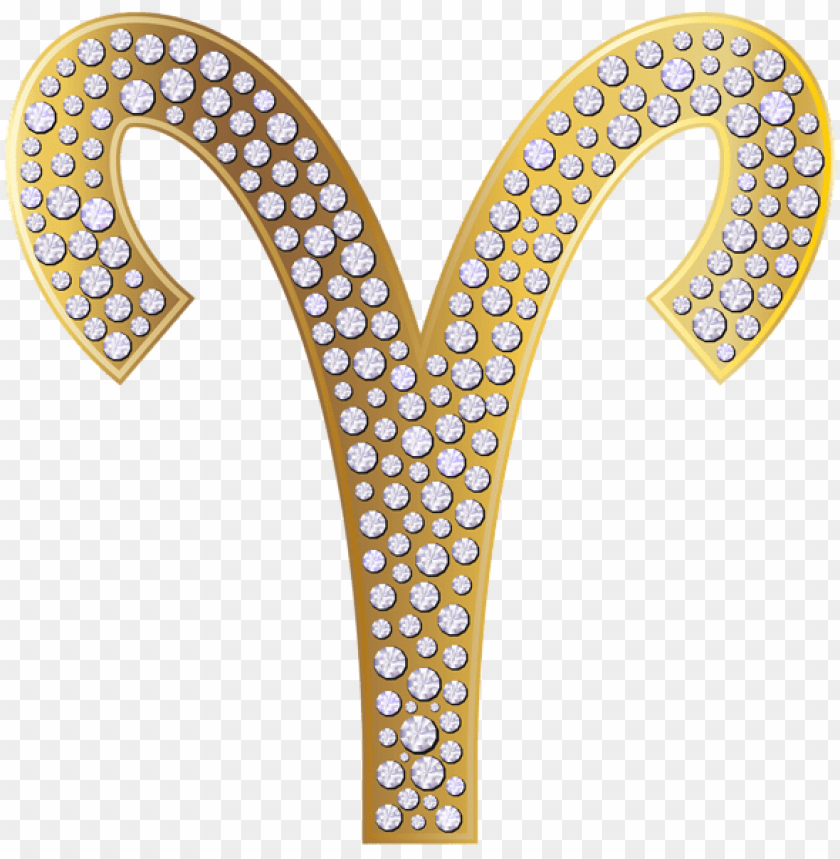 free PNG Download aries zodiac sign gold clipart png photo   PNG images transparent