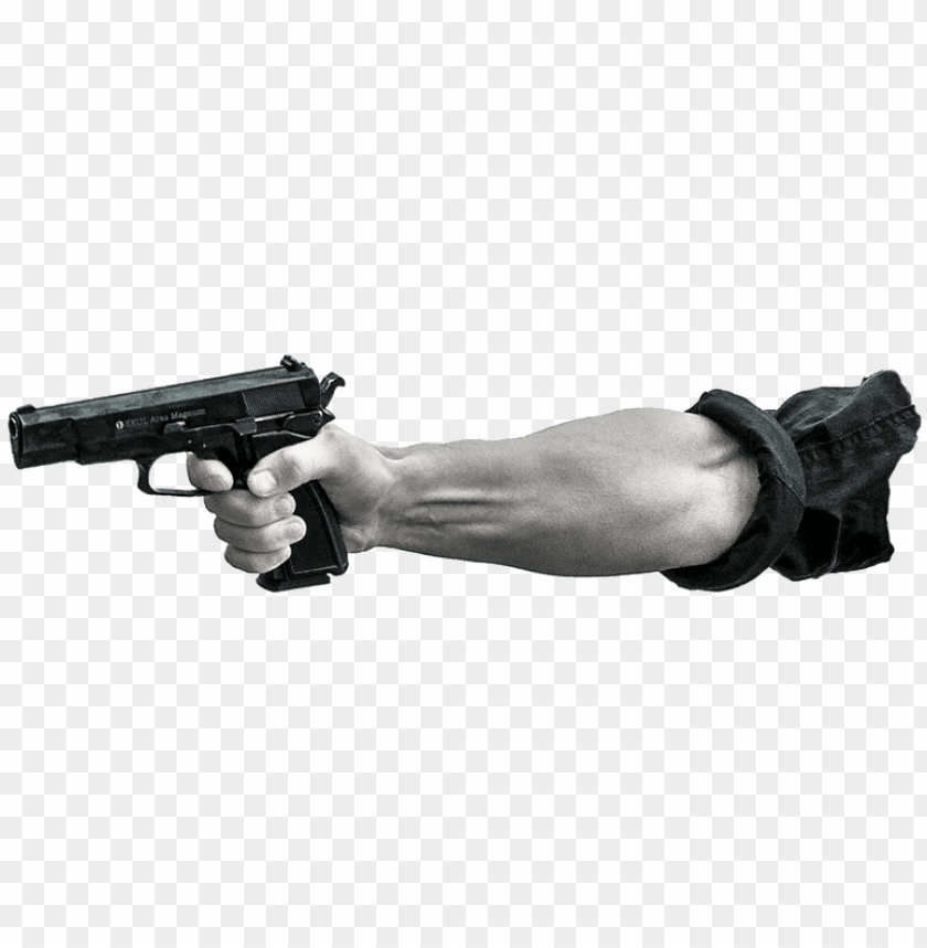 free PNG arm pointing gun - arm with gun PNG image with transparent background PNG images transparent