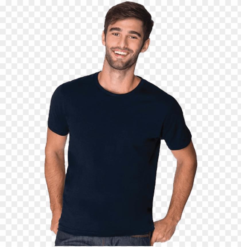 free PNG arment - black tshirt model PNG image with transparent background PNG images transparent