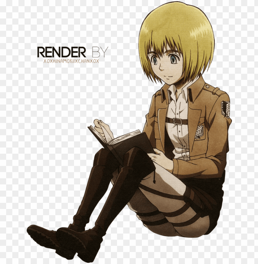Armin Arlert Png Attack On Titan Armin Render Png Image With Transparent Background Toppng
