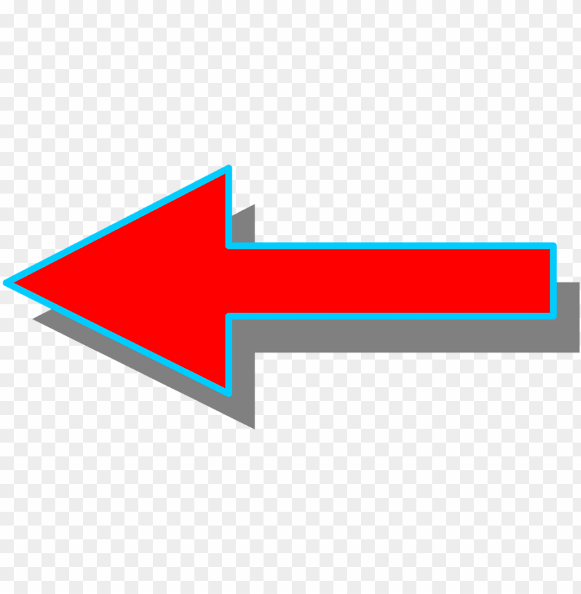 free PNG arrow left - red arrow facing left PNG image with transparent background PNG images transparent