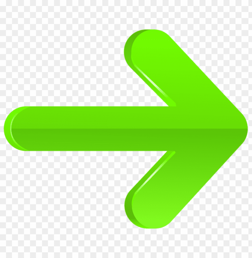 free PNG Download arrow right green clipart png photo   PNG images transparent