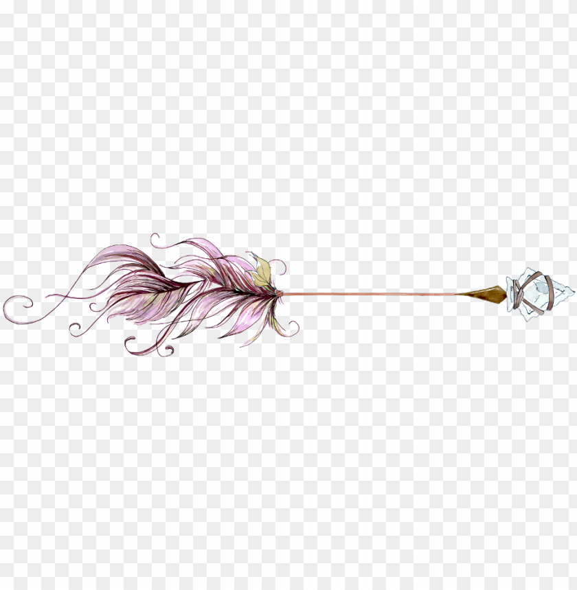 free PNG arrow watercolor watercolour boho hipster - watercolor painti PNG image with transparent background PNG images transparent