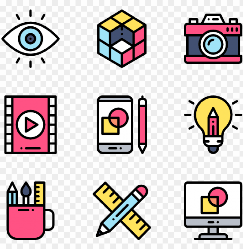free PNG art & design 50 icons - web design icons png - Free PNG Images PNG images transparent