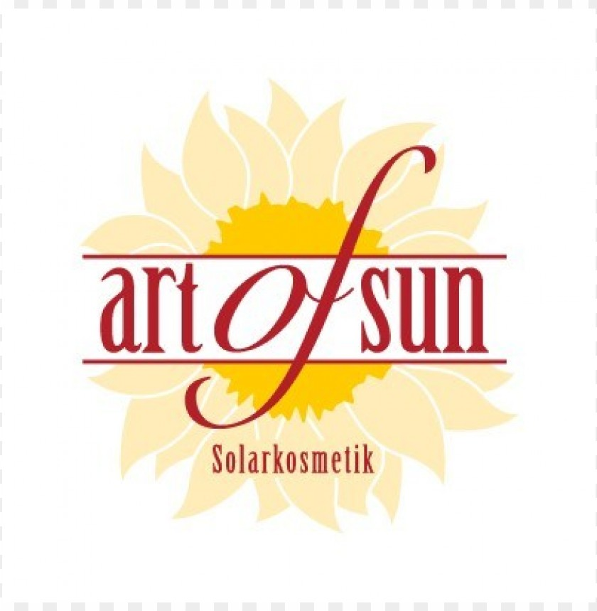 free PNG art of sun logo vector PNG images transparent