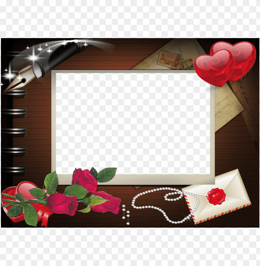free PNG art romantic png frame background best stock photos PNG images transparent