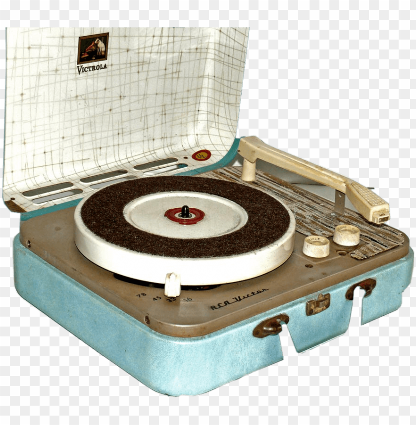 free PNG art vintage aesthetic record recordplayer 60s 50s 40s PNG image with transparent background PNG images transparent