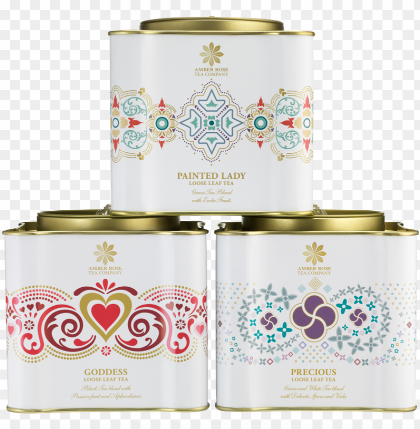 free PNG artc trio caddy 1 - goddess loose leaf tea 100 PNG image with transparent background PNG images transparent