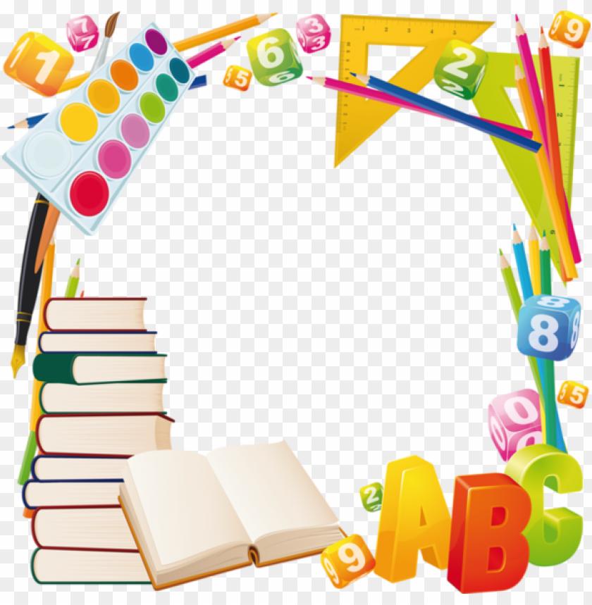 Articles D Ecole Bordure De Page Scolaire Png Image With