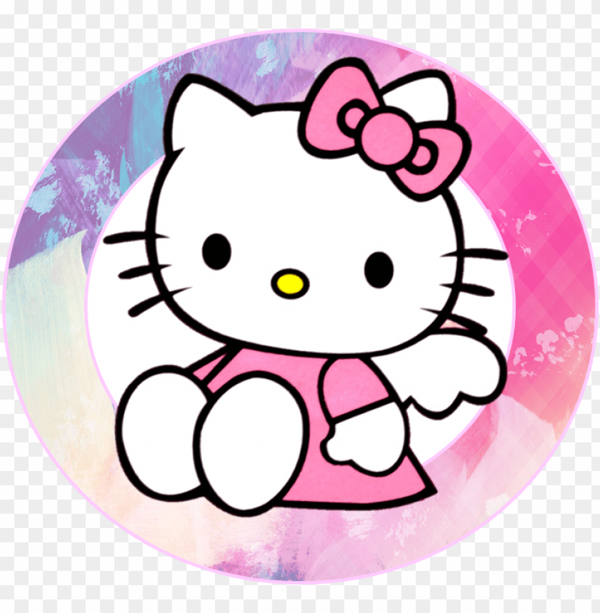 Arty Clipart Hello Kitty Cartoon Characters In Hello Kity Png Image With Transparent Background Toppng