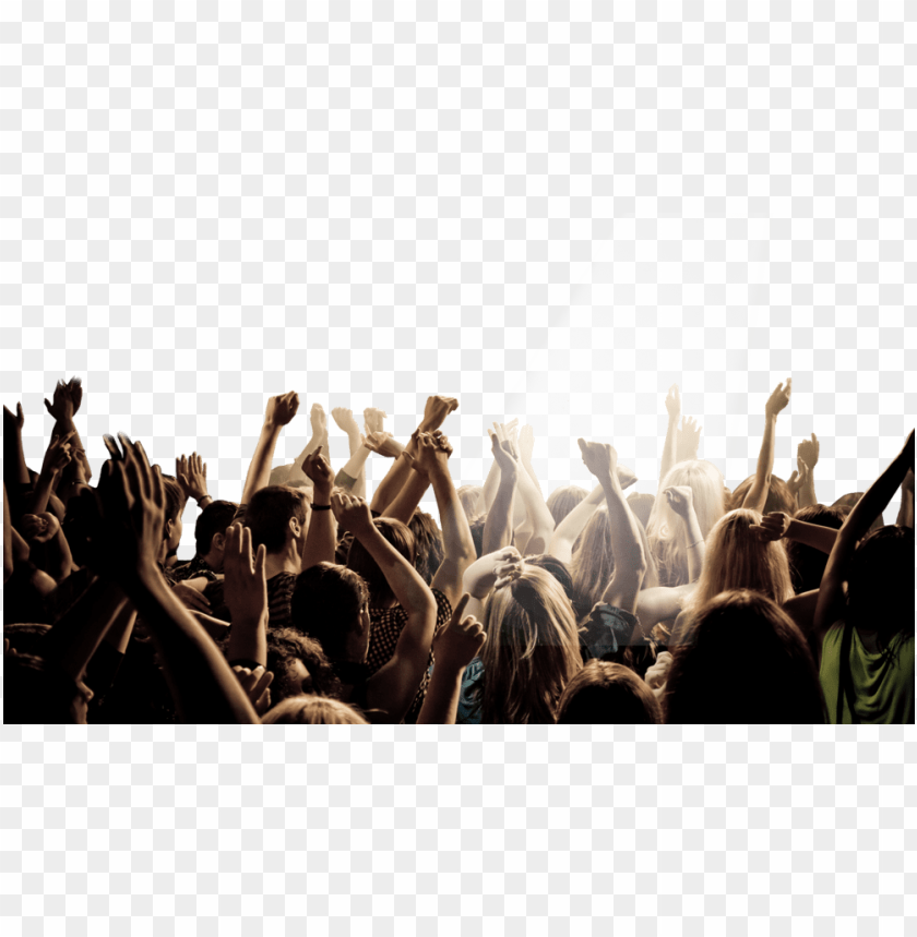 free PNG arty crowd png - crowd at concert PNG image with transparent background PNG images transparent