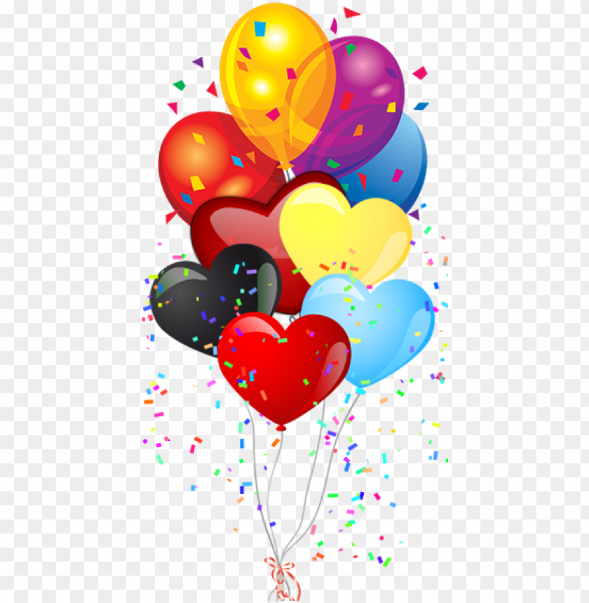 free PNG arty themes & decorations supplies - birthday balloons clipart PNG image with transparent background PNG images transparent