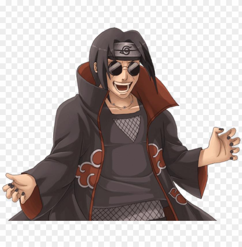 Aruto Itachi Sharingan Crazy Anime Akatsuki Itachi Funny Png Image With Transparent Background Toppng