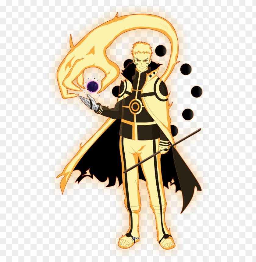 Aruto Modo Kurama Png Naruto Hokage Bijuu Mode Png Image With Transparent Background Toppng