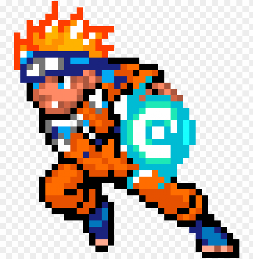 Aruto Naruto Pixel Art Png Image With Transparent Background Toppng