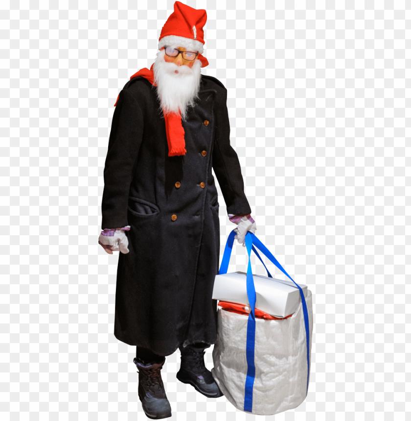 free PNG Download as improvised jultomten aka santa claus png images background PNG images transparent