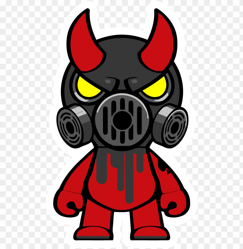 free PNG as mask oni black mask clipart png - gas mask cartoon PNG image with transparent background PNG images transparent