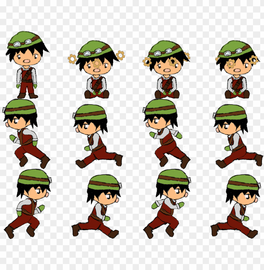 free PNG as the character is now more lively it has been decided - character movement sprite sheet PNG image with transparent background PNG images transparent
