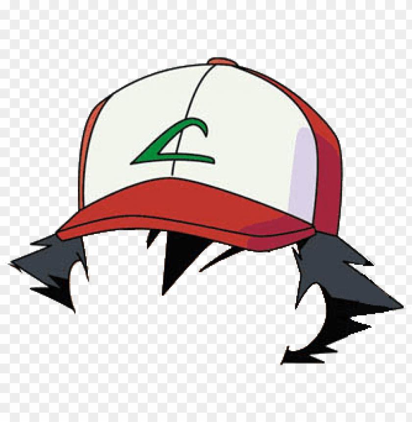 free PNG ashes hat png image download - ash ketchum hat PNG image with transparent background PNG images transparent